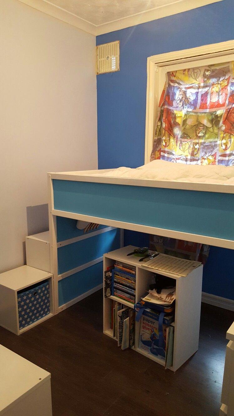 Ikea kura bed revamped!! (mit Bildern) Kinder zimmer