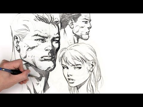 Dynamic Figure Drawing Volume 1: The Head | The Gnomon Workshop | 2d ...