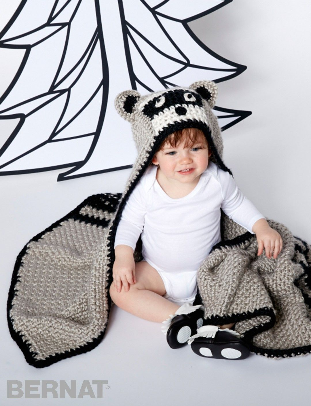 Lil\' Bandit Blanket - Patterns | Yarnspirations | Baby blankets ...