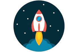 Rezultat Poshuku Zobrazhen Za Zapitom Rocket Icon Flat Icon Illustration Rocket