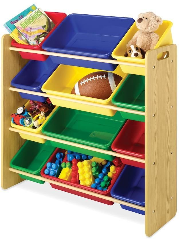 Whitmor Children S 12 Bin Organizer Toy Storage Organization Kids Storage Bins Organizing Bins