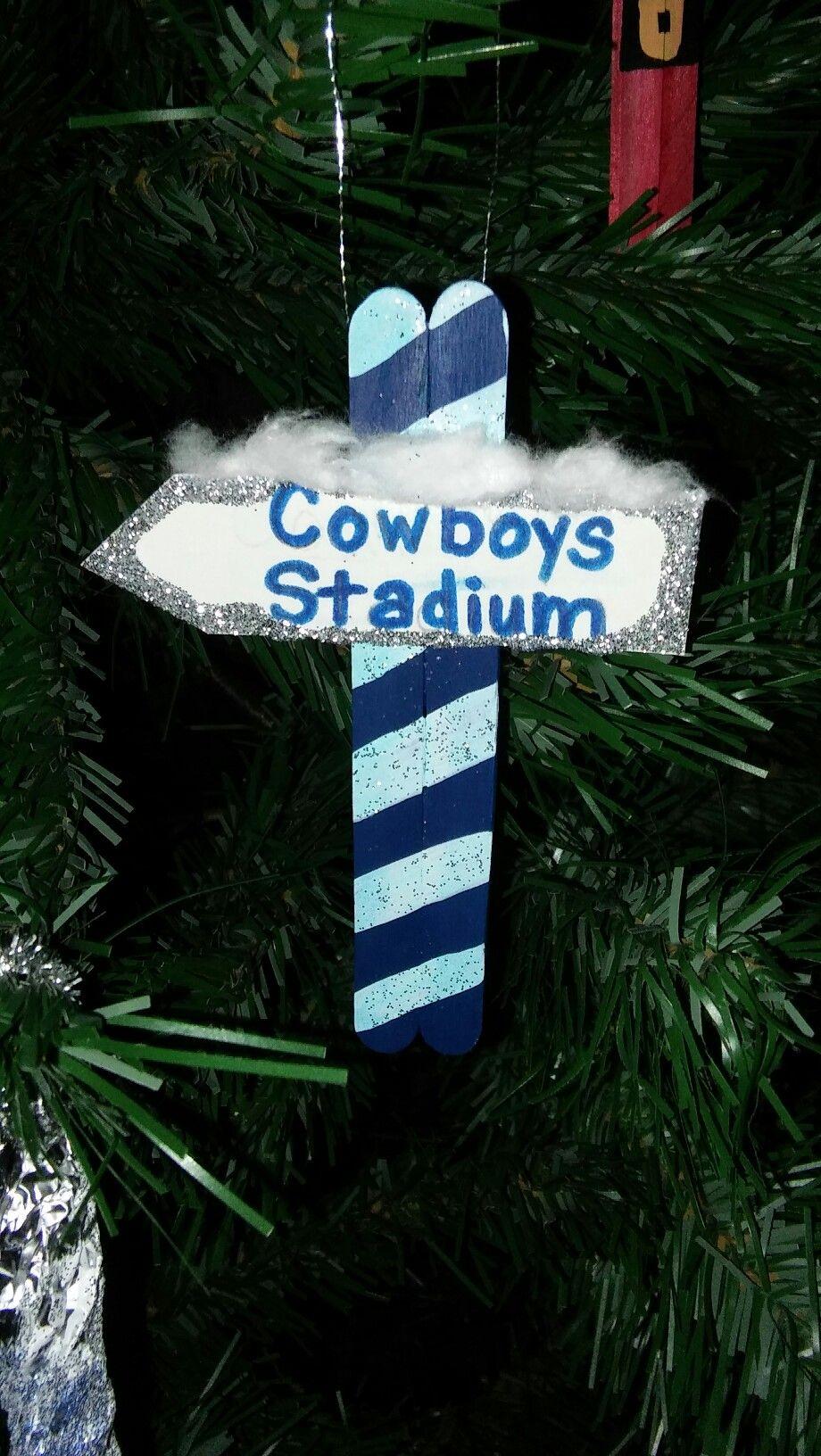 Dallas cowboy christmas ornament | Dallas cowboys ...