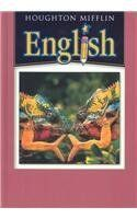 6th Grade English Textbook Houghton Mifflin English Hardcover