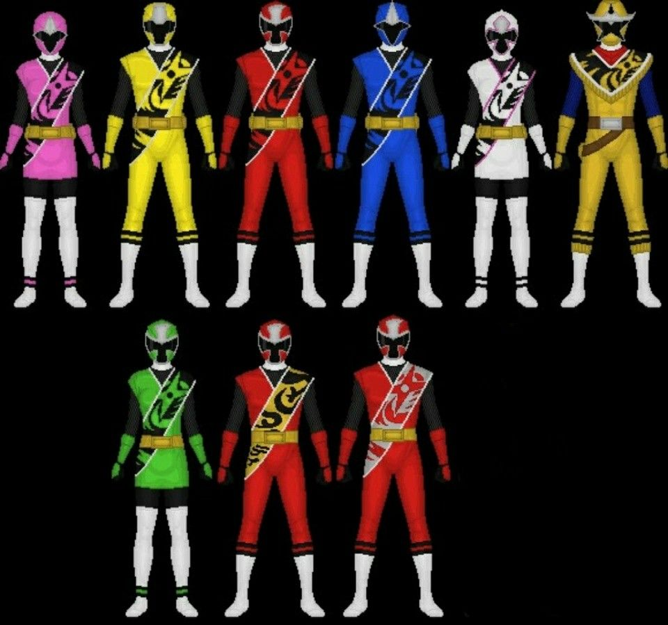 Power Rangers Super Ninja Steel Brody Preston Calvin Hayley Sarah