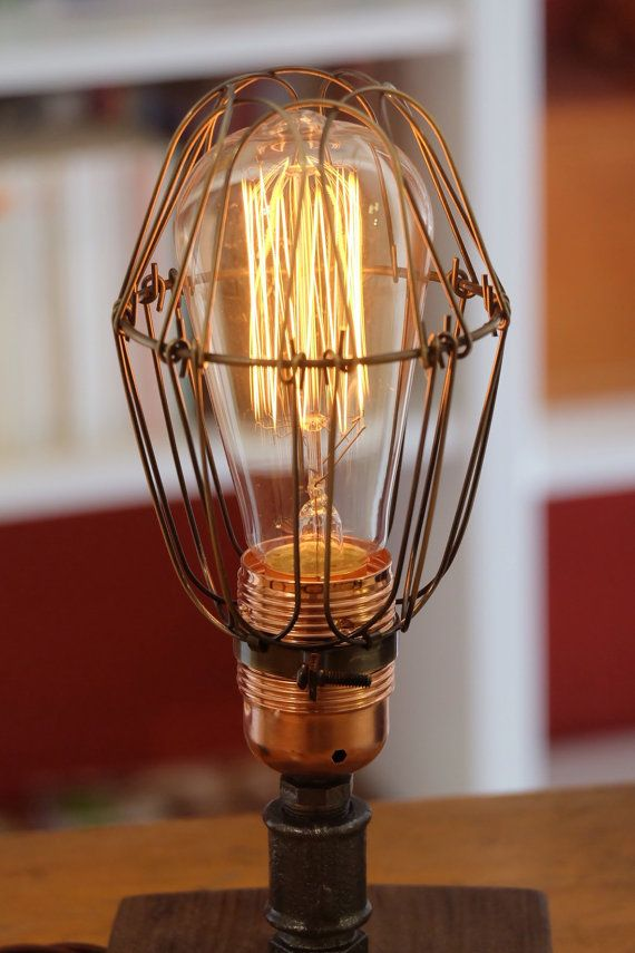 Lamp Abat jour Industrial Vintage style by SteamItaly on