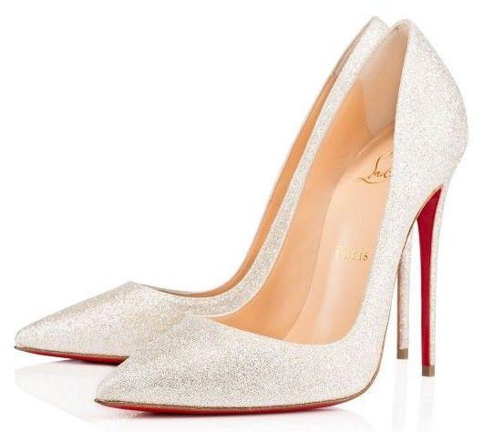 Scarpe Sposa Eleganti.Scarpe Eleganti Da Sposa Di Louboutin Decollete Di Color Bianco