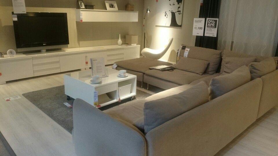 Definitely an idea for a living room #Ikea