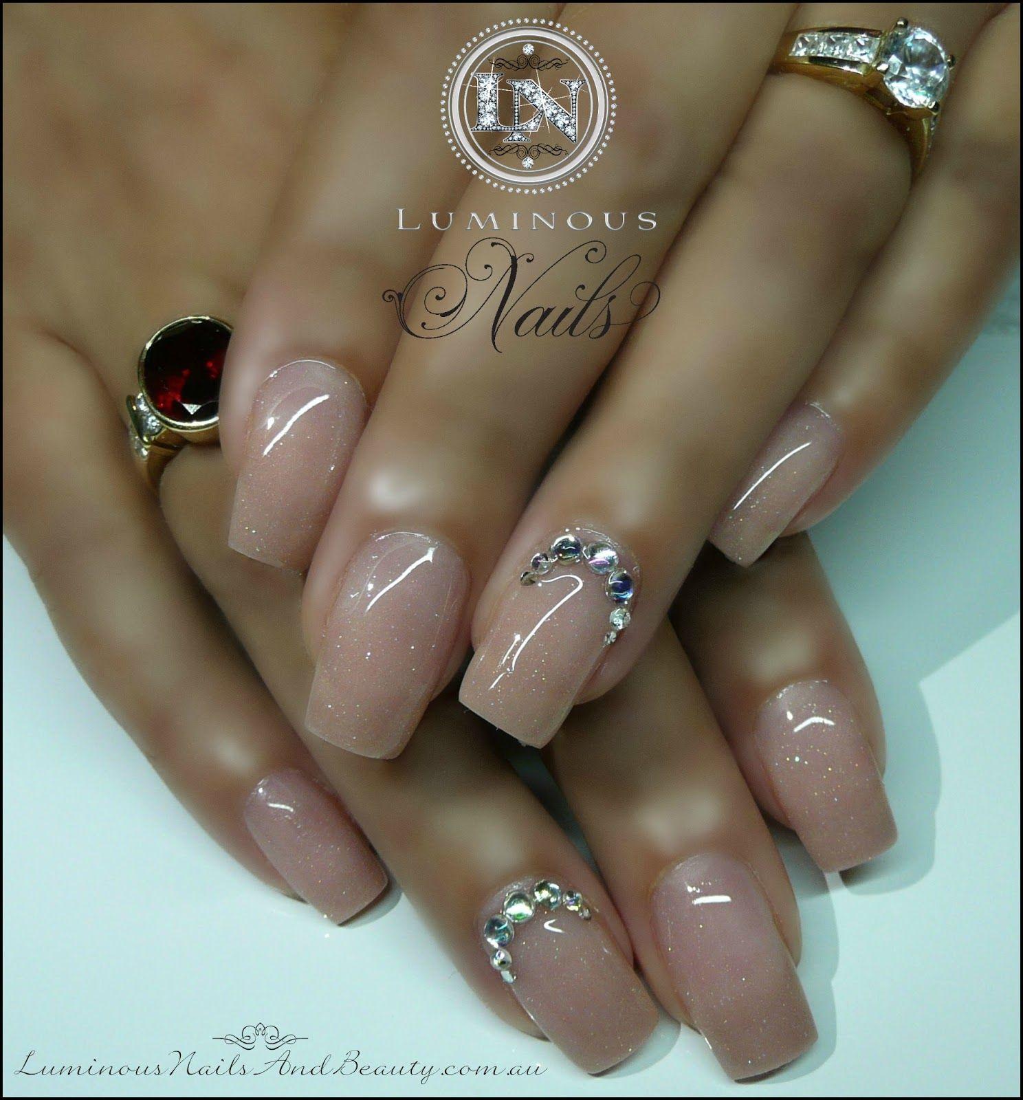 Luminous Nails Luminous Nails Gel Nails Cute Nails