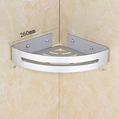 MAFYU Space aluminum bathroom corner rack bathroom rack ... on Corner Sconce Shelf Tray id=86979