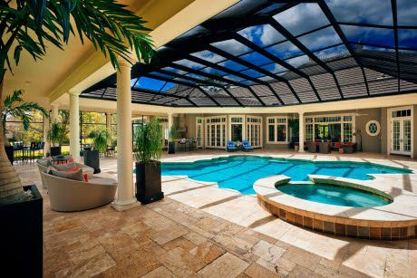 9536 tavistock rd orlando fl 32827 house pools and to the for Florida house plans with lanai