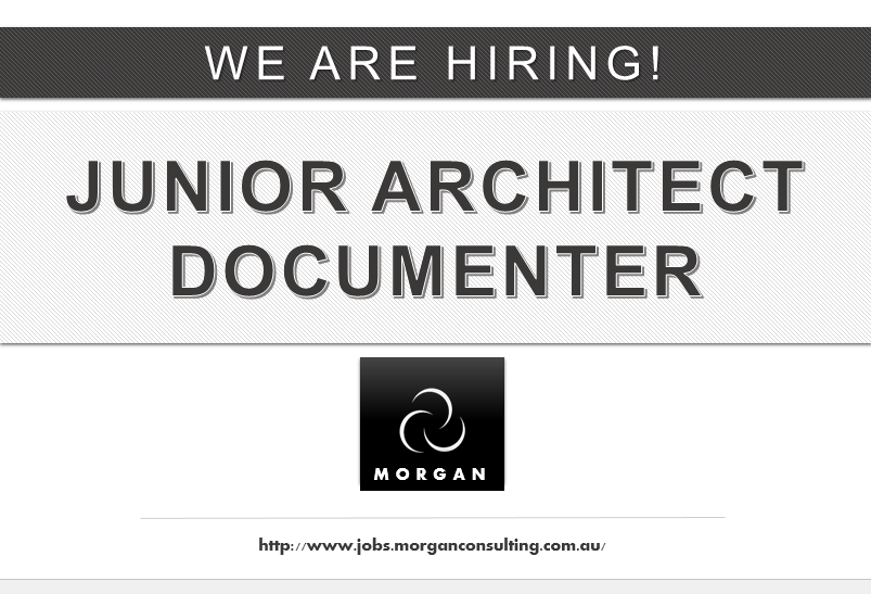 Find This Pin And More On Job Vacancies By Morganaustralia Documentation Design Junior