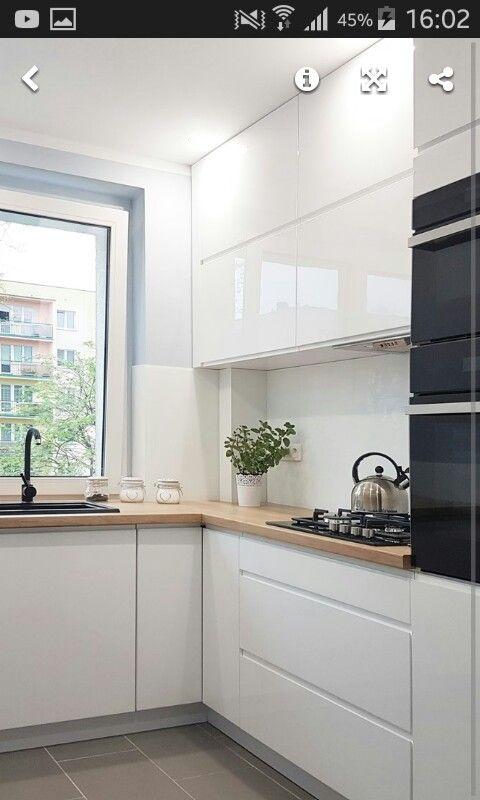 Pin By Monika On Mieszkanie Kitchen Interior Kitchen Remodel Small Kitchen Design Small