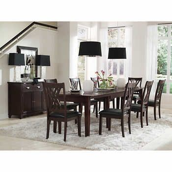 Toronto 14 Pc Dining Set Rectangular Dining Table Dinning Room Decor Dining Table