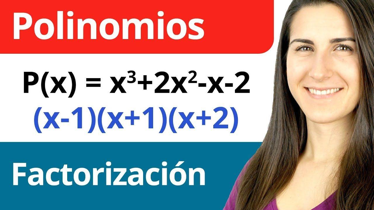 Factorización De Un Polinomio Polinomios Ecuaciones Segundo Grado
