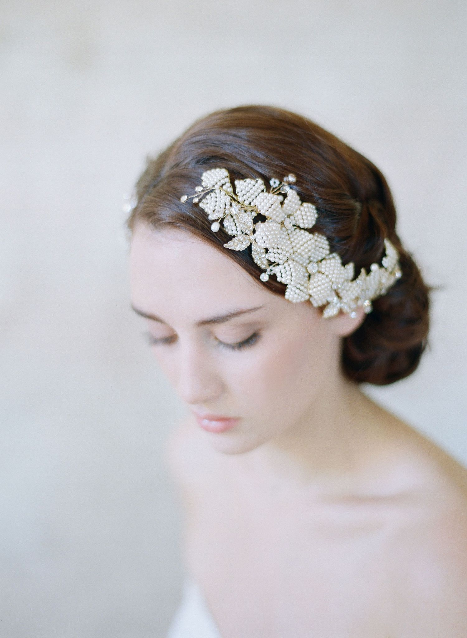 Contemporary Wedding Tiara Hairstyles Image - The Wedding Ideas ...