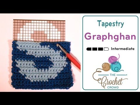 Crochet Tapestry Graphghans + Tutorial | I Heart Crochet | Crochet