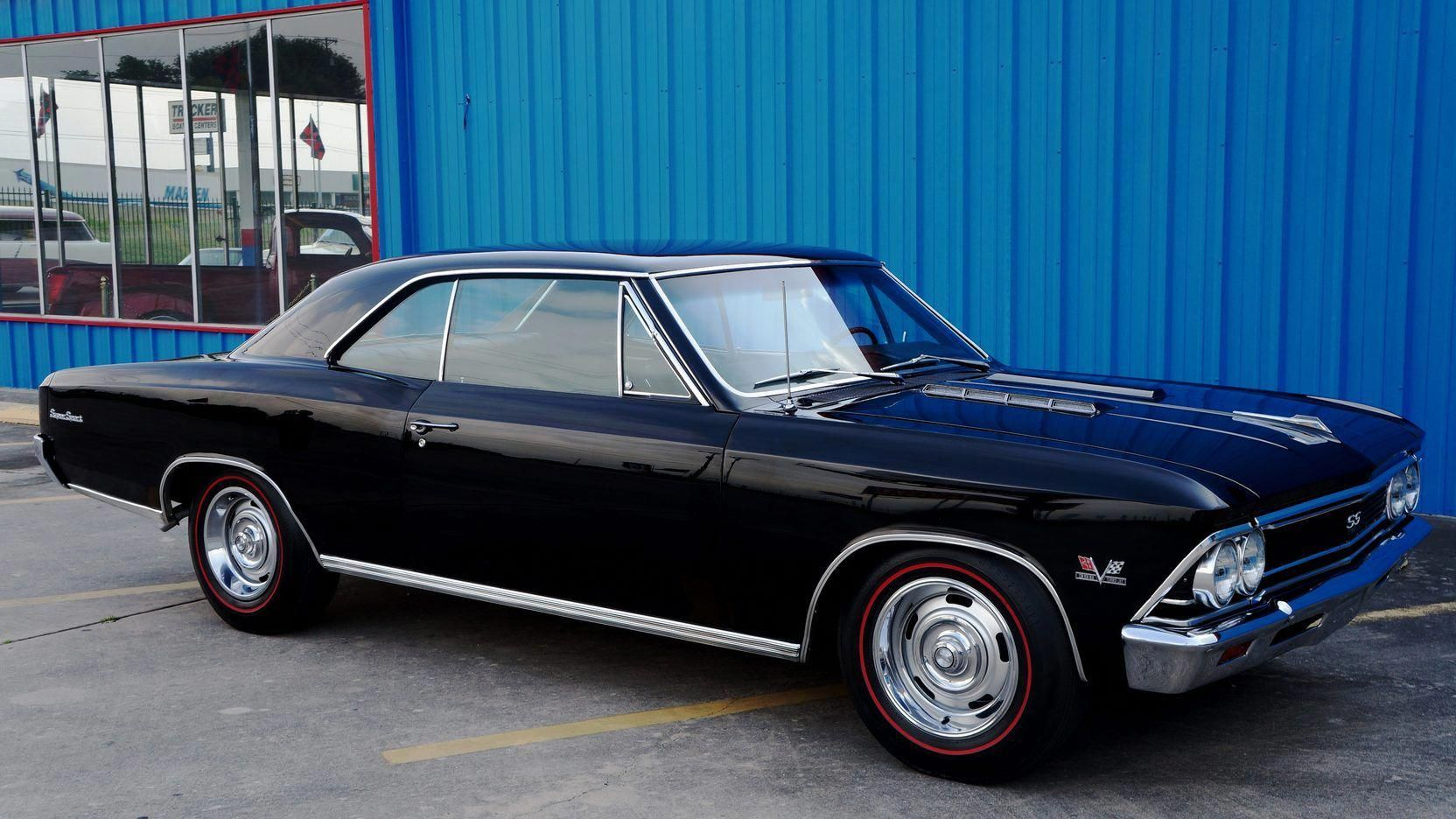 1966 Chevrolet Chevelle SS presented as Lot F41 at