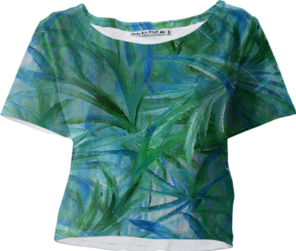 Jungle Blues Boogie Fashion, Blue, Fashion design