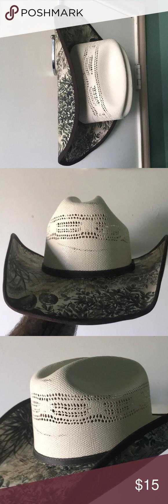 Men S Cowboy Hat Men S Stetson Cowboy Hat Size Medium 7 1 8 7 1 4 Never Been Worn No Tags Or Box Breatha Cowboy Hats Mens Cowboy Hats Stetson Cowboy Hats