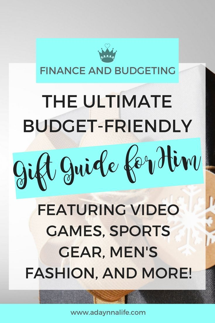 Budget-Friendly Gift Guide for Him - Frugal living, Frugal and Christmas gifts