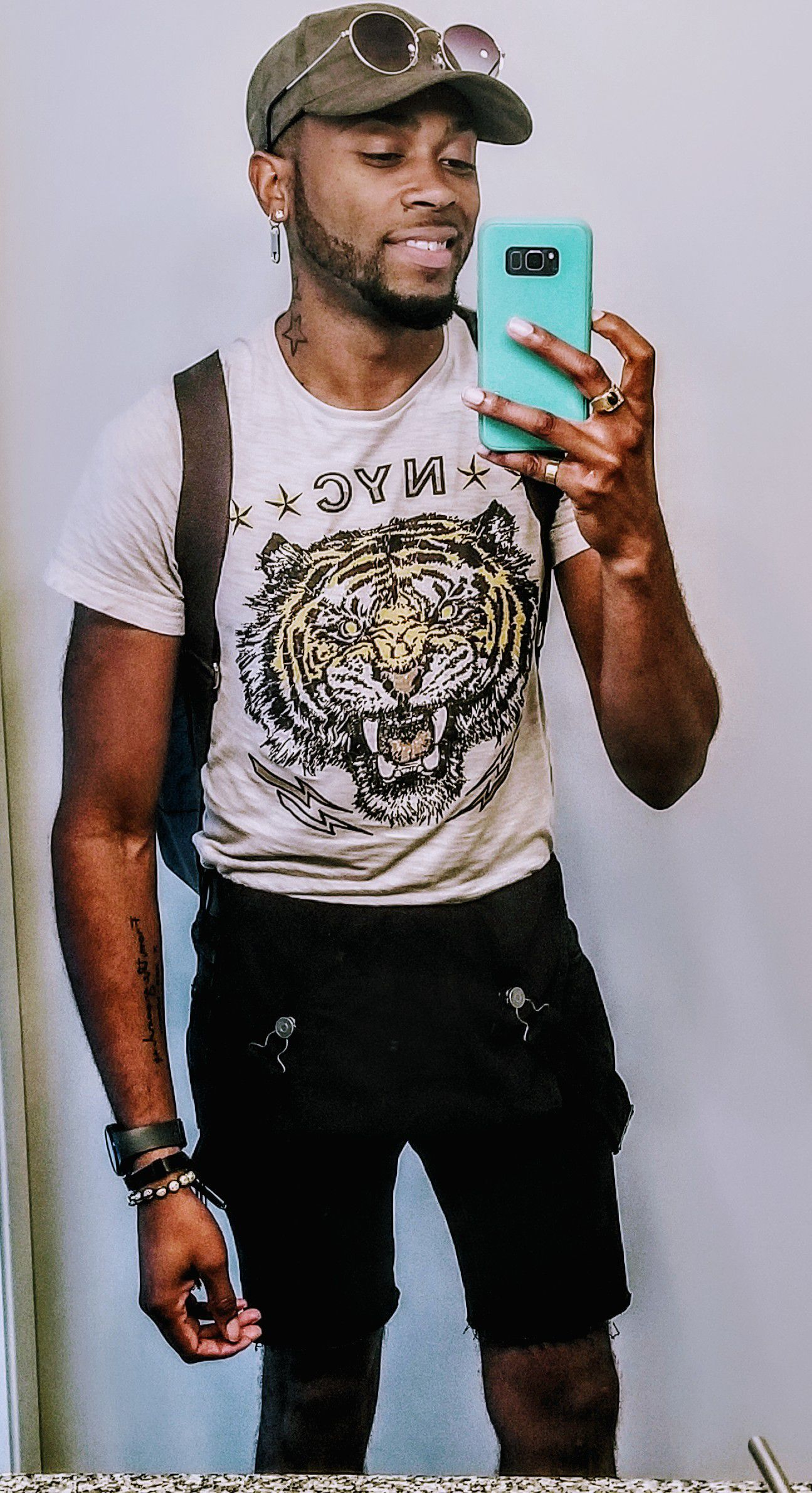 largest selection of 2019 enjoy cheap price choose newest Black overalls & Graphic- t: Express Men Back pack: Cole ...