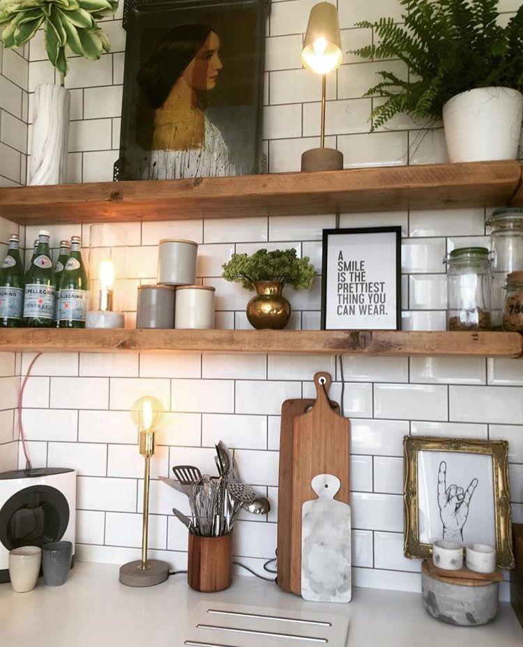 Küche Einrichten Ideen: Küche Ideen Einrichtung Landhaus Mit Holz. #Deko
