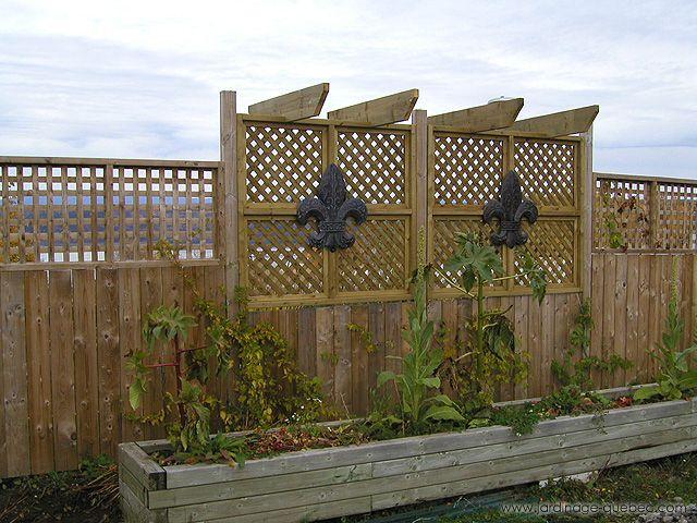 Construire Une Cloture En Pvc Ou Bois Traite Cloture Jardin