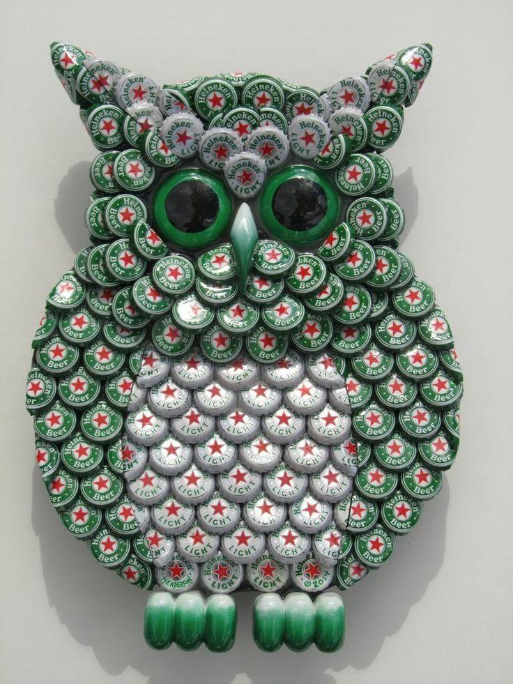 Saucepan Lid Owls Are Beyond Adorable   Pinterest   Kronkorken ...