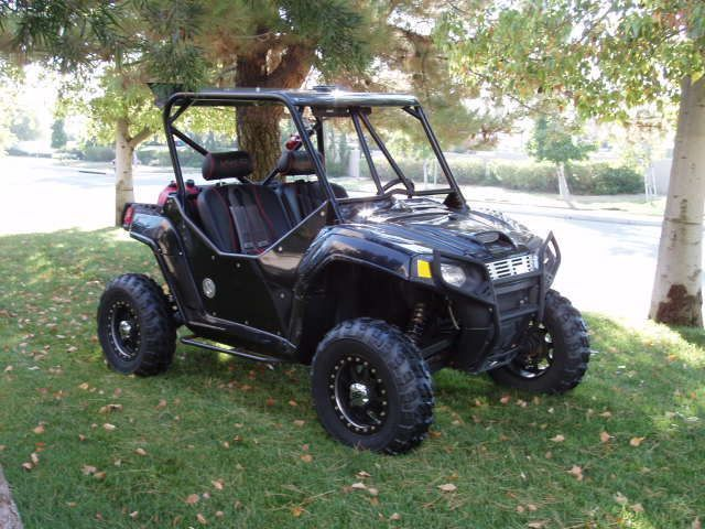 2008 Polaris Ranger Rzr Side By Side Black Black 1 400 Miles For Sale In Temecula Ca Polaris Ranger Rzr Atv