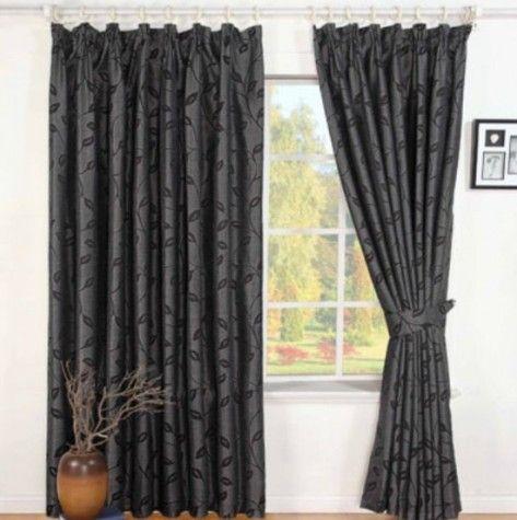 Bedroom Curtains black bedroom curtains : 1000+ images about black bedroom on Pinterest | Zen design, Kantha ...