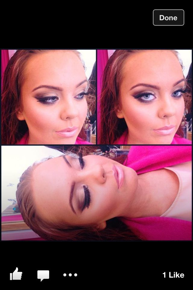 What a stunner! Eyes: all that glitters, melon pigment, chocolate brown pigment, carbon and reflects antique gold. Makeup by me xx