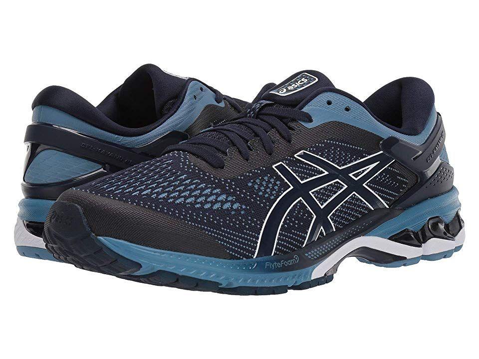 ASICS GEL Kayano(r) 26 Men's Running Shoes MidnightGrey in