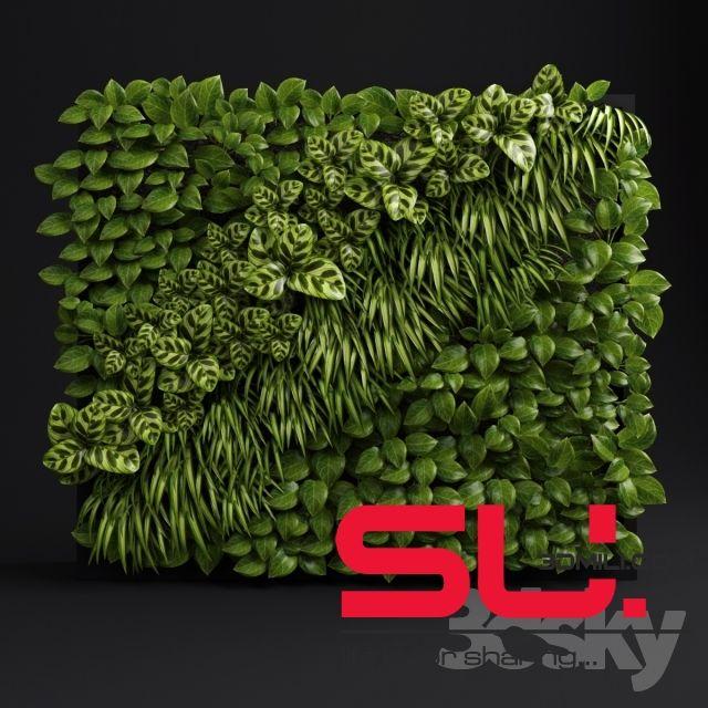 15  Plant Sketchup Free download - 3D Mili - Free SketchUp Models