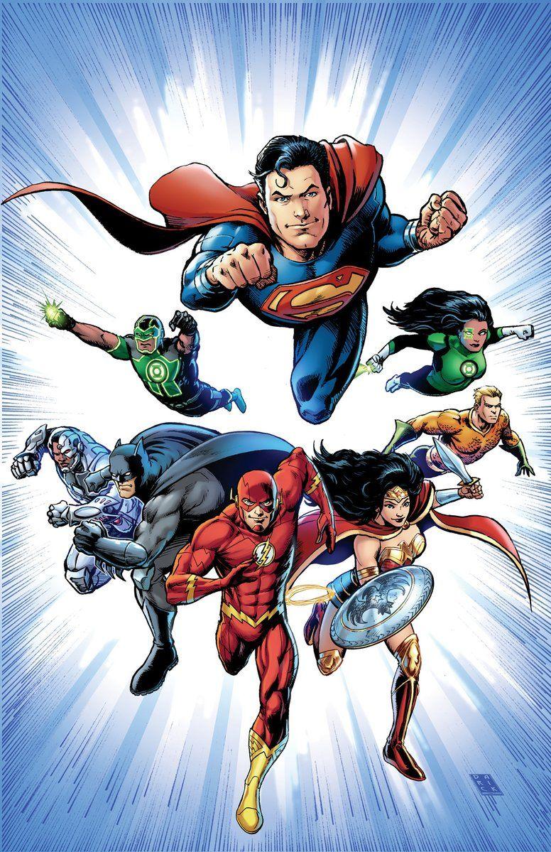 Dc Comics Justice League : Justice league rebirth visit to grab an amazing super