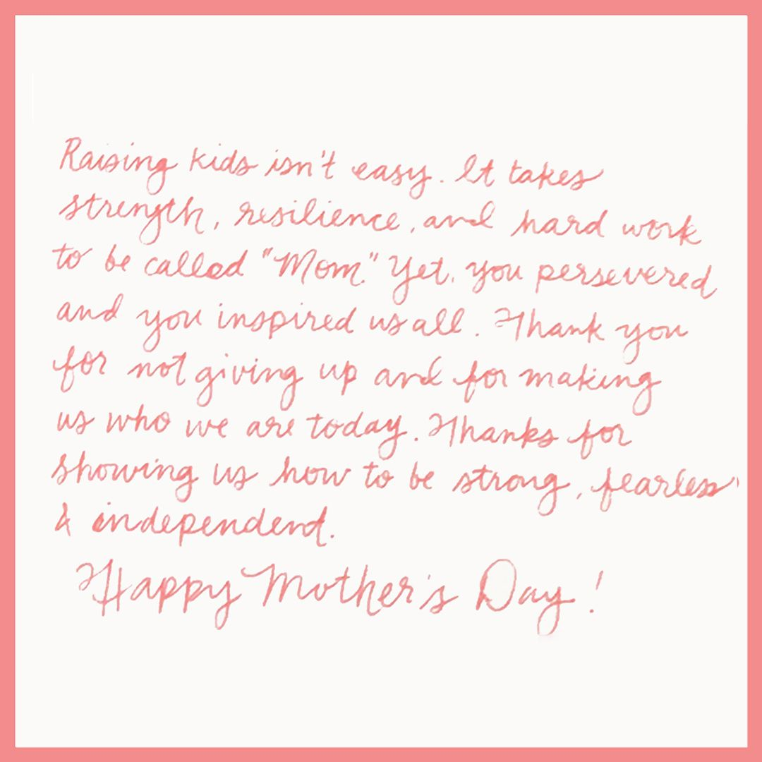 Happy Mother S Day It S Never Too Late To Show You Care By Sending A Handwritten Note Or Having Punkpost Send One Fo Love Guru Happy Mothers Happy Mothers Day