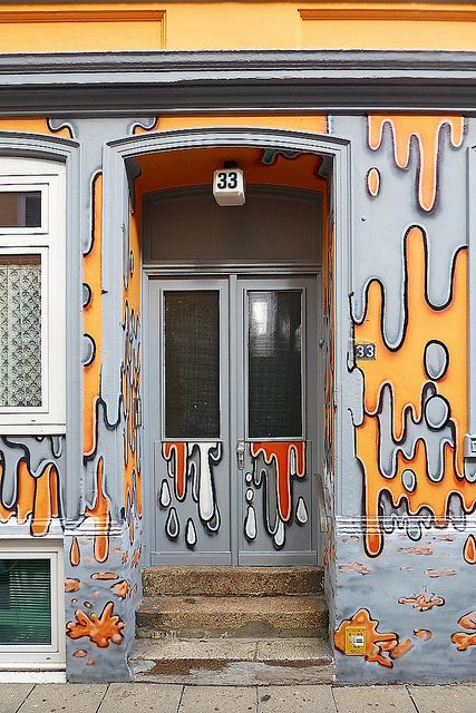 Hamburg door - by txmx 2 via Flickr & 33 | Hamburg Hamburg germany and Doors