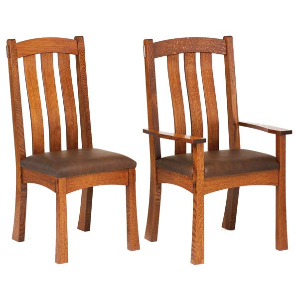 Great Amish Miami Dining Chairs | Amish Furniture | Shipshewana Furniture Co.