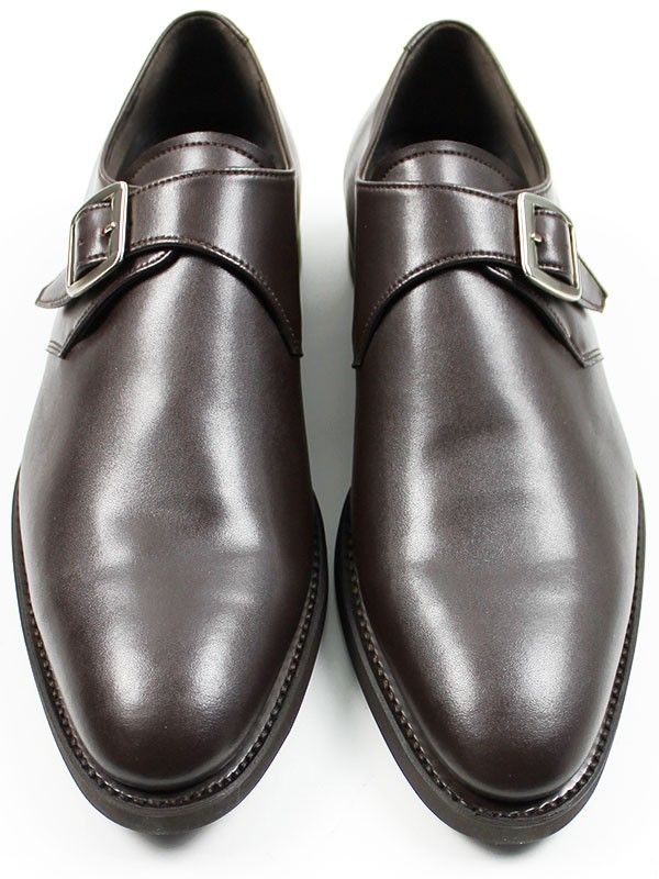 747d81868f6 Vegan mens Goodyear Welted Monk Shoes by Wills London
