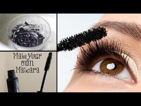 DIY Homemade Mascara | 24 hrs Smudgeproof, Waterproof, Long lasting | 100% Natural - YouTube