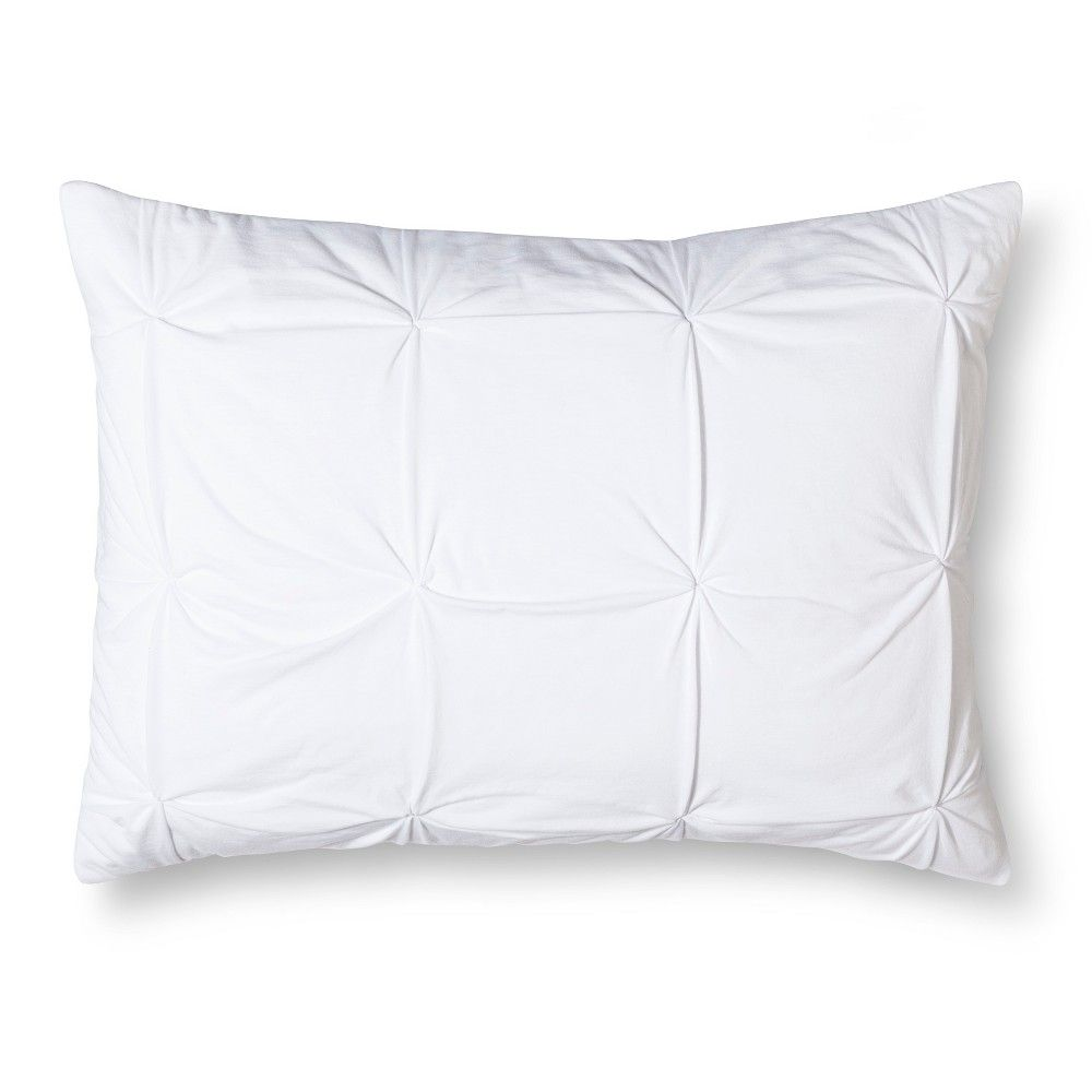 Jersey Quilted Pillow Sham King Jersey Quilt Room Essentials Quilted Pillow Shams