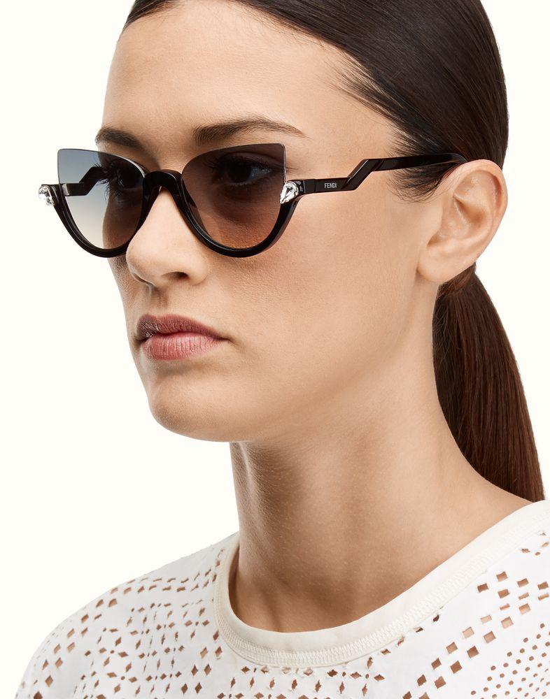 71781b47d945 FENDI BLINK - Havana cat-eye sunglasses