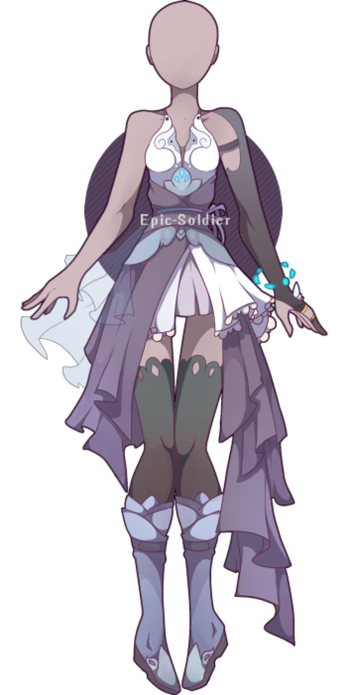Outfit adoptable 33 (CLOSED!) by Epic Soldier on @DeviantArt
