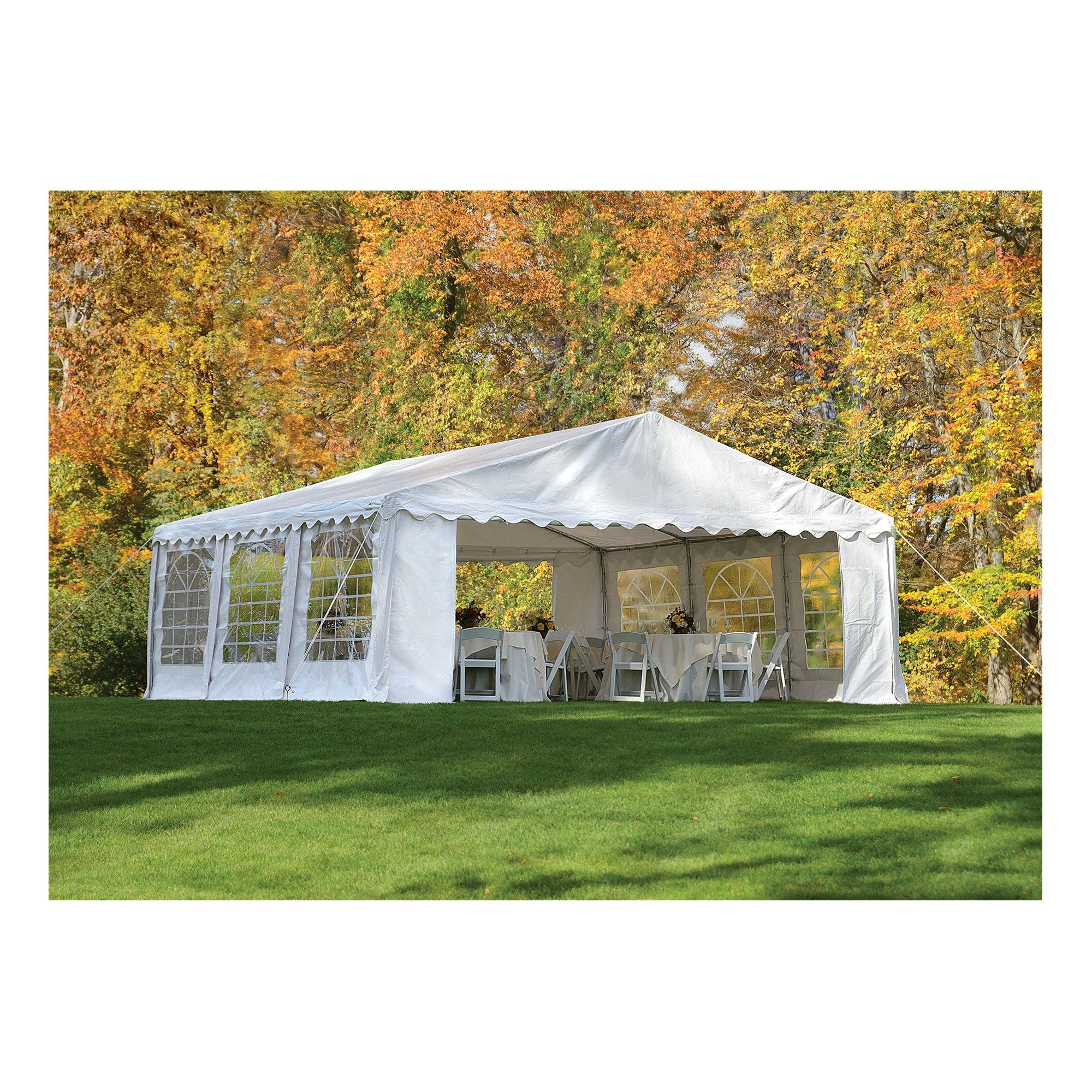 Shelter Logic 20x20 Party Tent and Enclosure Kit - White  sc 1 st  Pinterest & Shelter Logic 20x20 Party Tent and Enclosure Kit - White | Tents ...