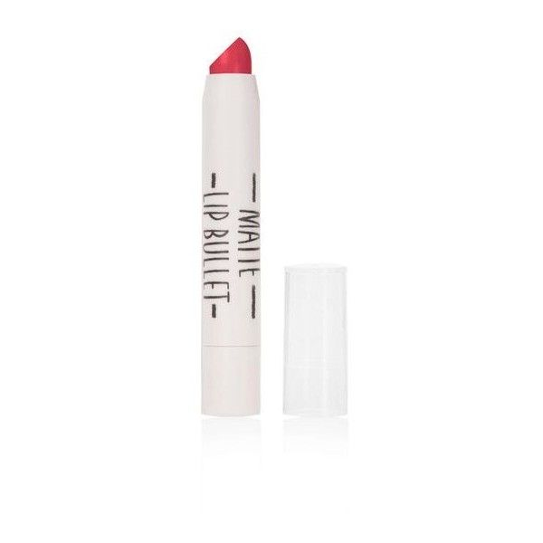 TopShop Matte Lip Bullet in Wink ($12) ❤ liked on Polyvore featuring beauty products, makeup, lip makeup, coral, topshop makeup, topshop and topshop cosmetics