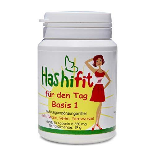 Hashifit® für den Tag Basis 1 unterstützt Schilddrüse..