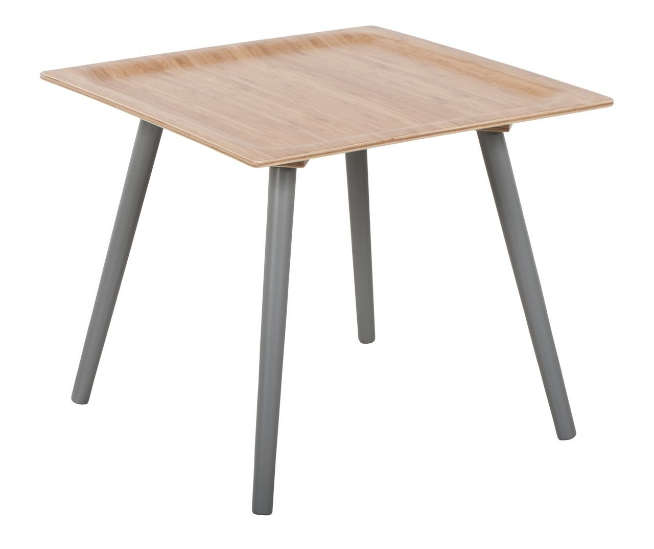 Bijzettafels! Side table Bamboo Warrior M cool grey by Zuiver at stealtheroom.com