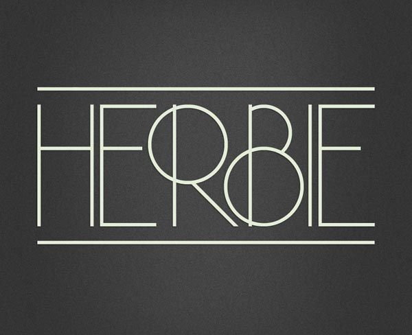 Herbie – Display Font by Infamous Foundry