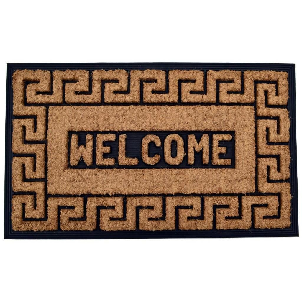 Online Shopping Bedding Furniture Electronics Jewelry Clothing More Greek Key Coir Coir Doormat