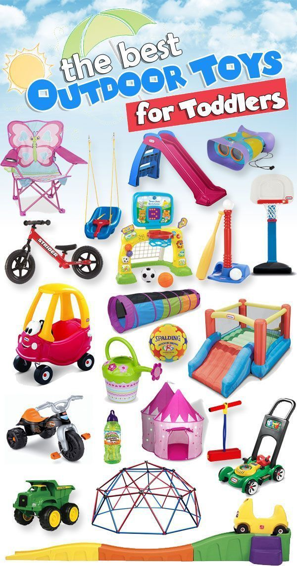 Best Outdoor Toys for Toddlers | Outdoor toys for toddlers ...