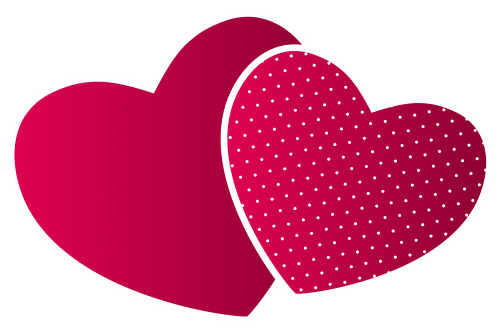 Double Hearts Png Clipart The Best Png Clipart Heart Wallpaper Clip Art Colorful Heart
